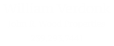 Naples Realtor William Bill Verdonk